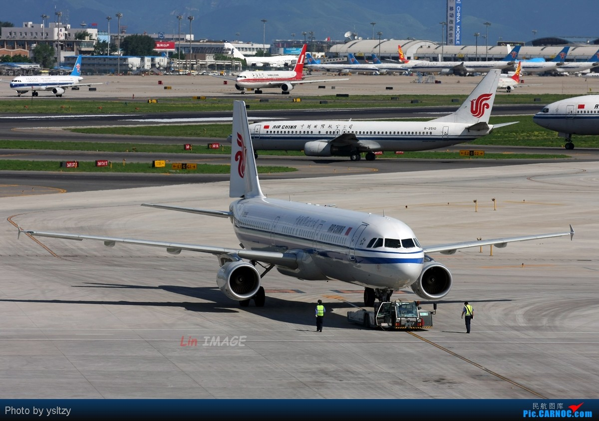 [原创]【BLDDQ】<老林制造>十图计划系列,光线不再柔和 AIRBUS A321-200 B-6605 中国北京首都机场