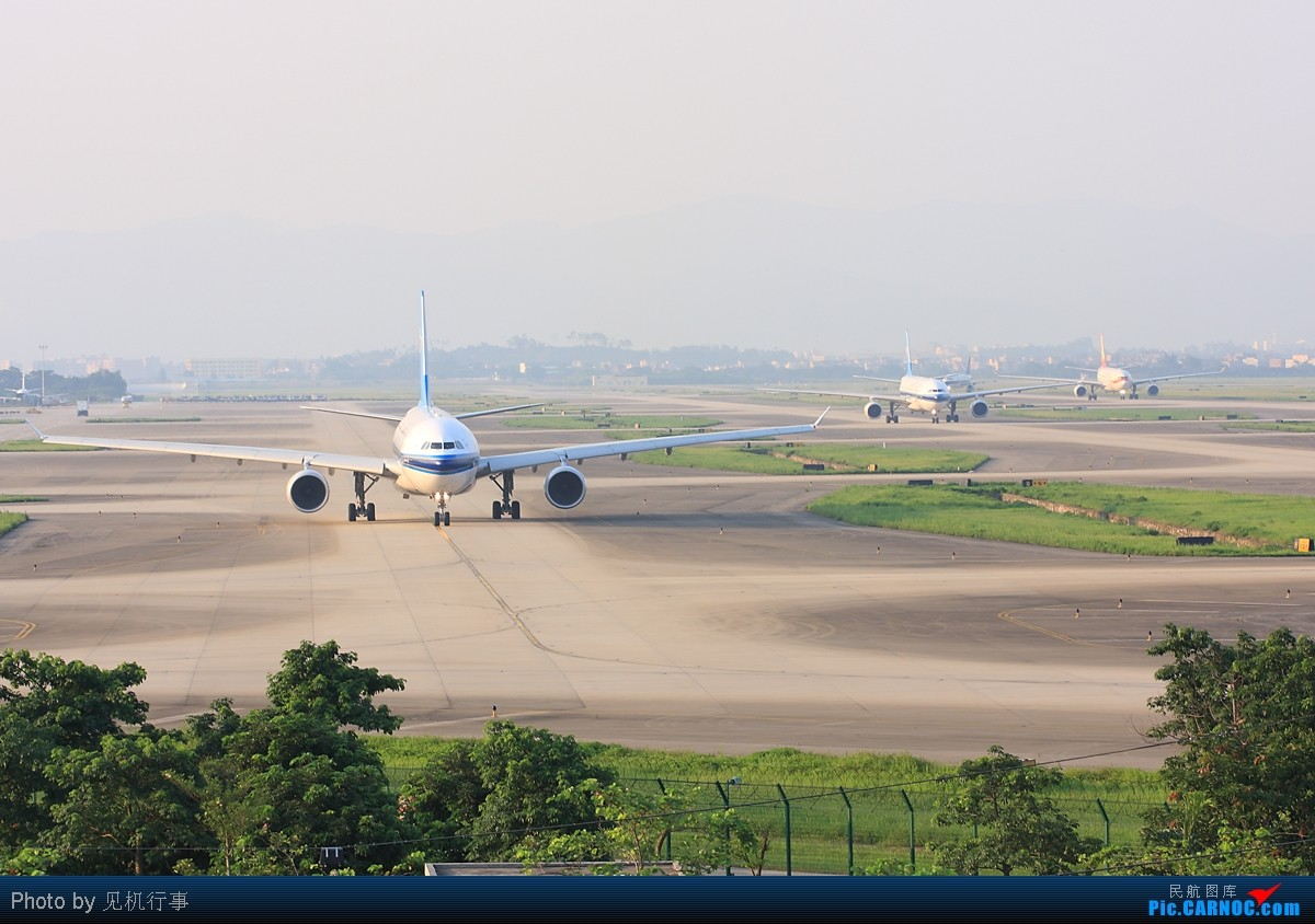 Re:[原创]【深圳飞友会】它终于来了!第一次首拍,很长﹑很新﹑很干净。机身长73.90米的大家伙降落广州。(增加4张机场难得瞬间图片)    中国广州白云机场
