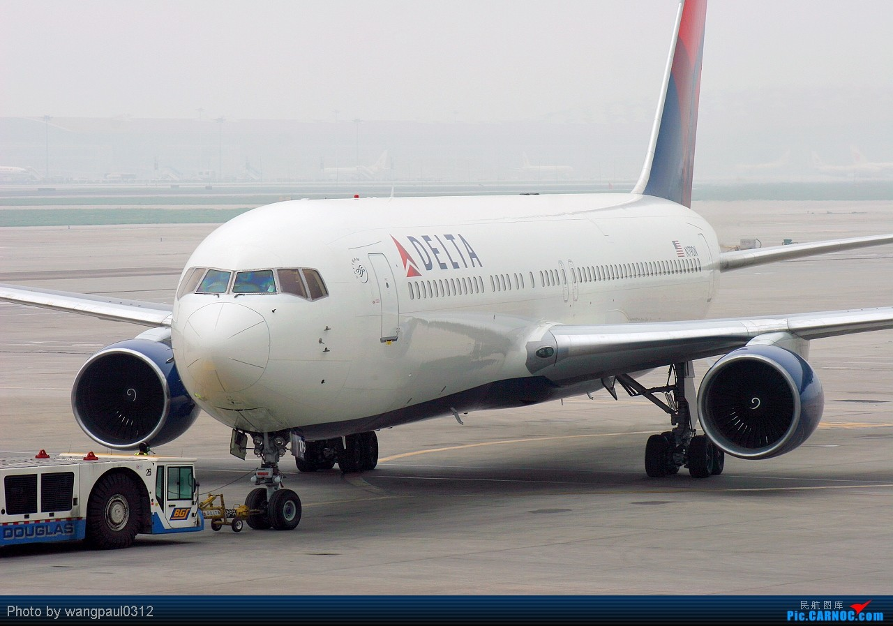 Re:[原创]这下在首都机场T2也可以看到带小姨的外航767了 BOEING 767-332ER N179DN 北京首都国际机场