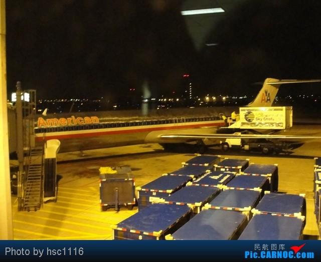 Re:[原创]MSP-ORD-PEK签转到PVG 失望的AA之旅 MCDONNELL DOUGLAS MD-80