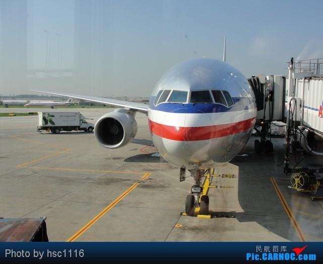 Re:[原创]MSP-ORD-PEK签转到PVG 失望的AA之旅 BOEING 777-200  美国芝加哥机场