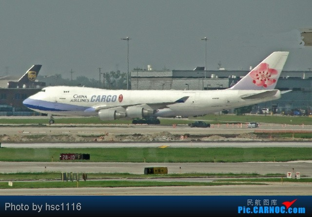 Re:[原创]MSP-ORD-PEK签转到PVG 失望的AA之旅 BOEING 747-400F B-18762 美国芝加哥机场