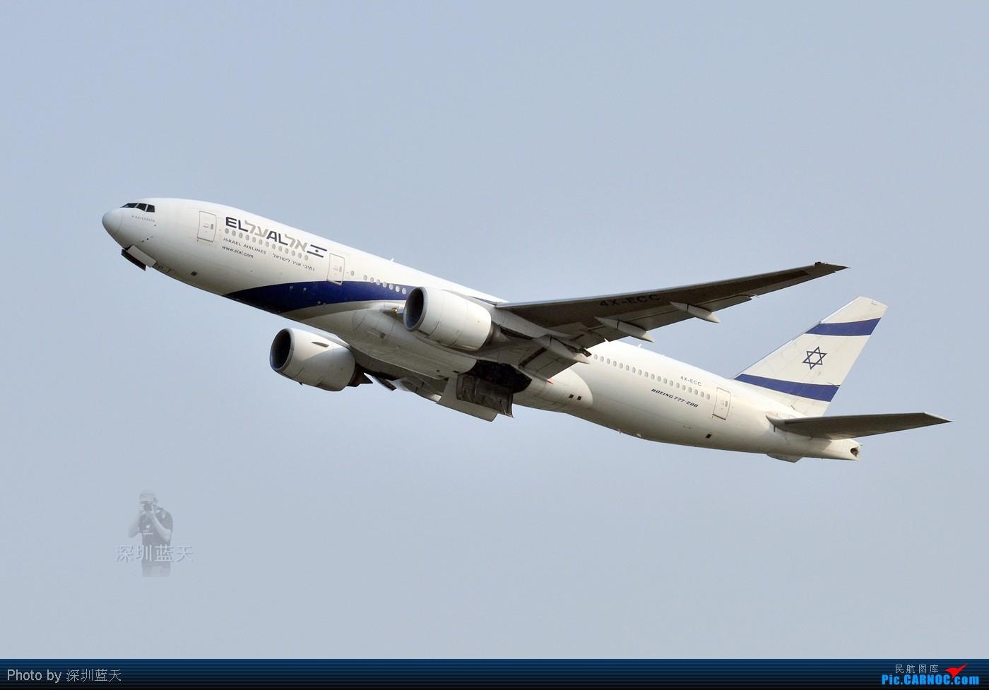 Re:[原创]【深圳飞友会】香港拍机系列三——天气好了,拍飞机就自然淡定了,拍机天堂之777系列篇! BOEING 777-200ER 4X-ECC 中国香港赤鱲角国际机场