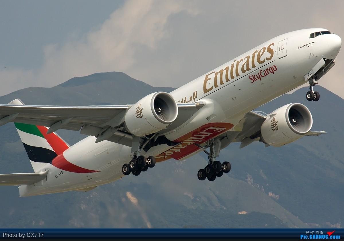 Re:[原创]【深圳飞友会】香港拍机系列三——天气好了,拍飞机就自然淡定了,拍机天堂之777系列篇! B777-200F A6-EFD 中国香港赤鱲角国际机场