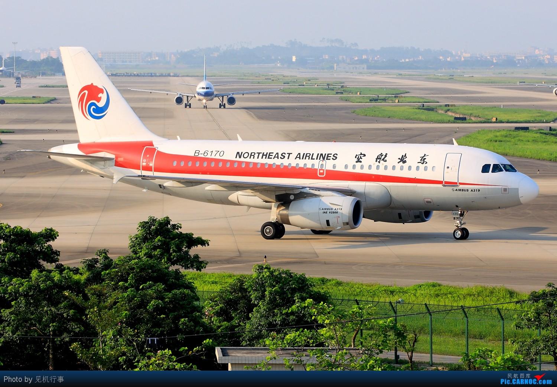Re:[原创]【深圳飞友会】差点给这架飞机忽悠了!还以为是香港航空A330。看它前面是香港航空,看它后面是海南航空。不知道海航在搞什么名堂。 AIRBUS A319-100 B-6170 中国广州白云机场