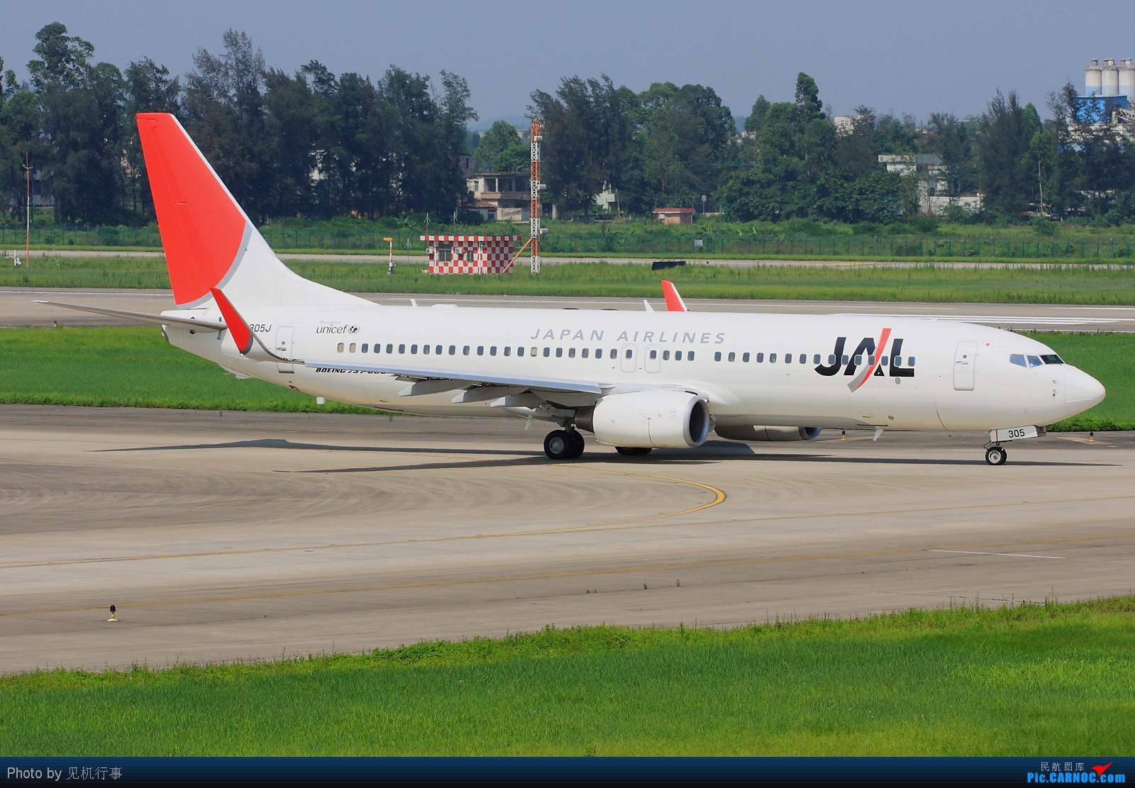 Re:[原创]【深圳飞友会】差点给这架飞机忽悠了!还以为是香港航空A330。看它前面是香港航空,看它后面是海南航空。不知道海航在搞什么名堂。 BOEING 737-800 JA305J 中国广州白云机场