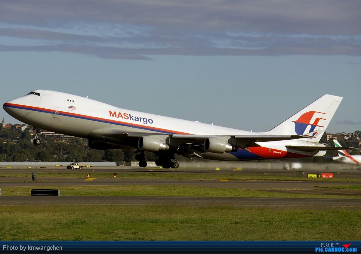 癹f�i)��&9�m���_boeing 747-4h6f/scd 9m-mpr 澳大利亚悉尼金斯福德·史密斯机场