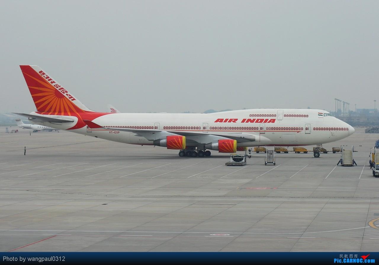 昨晚北京雷暴没敢开电脑,早上起来也要补发!以印度总统访华座驾为首的公务机群 BOEING 747-437 VT-SEP 北京首都国际机场