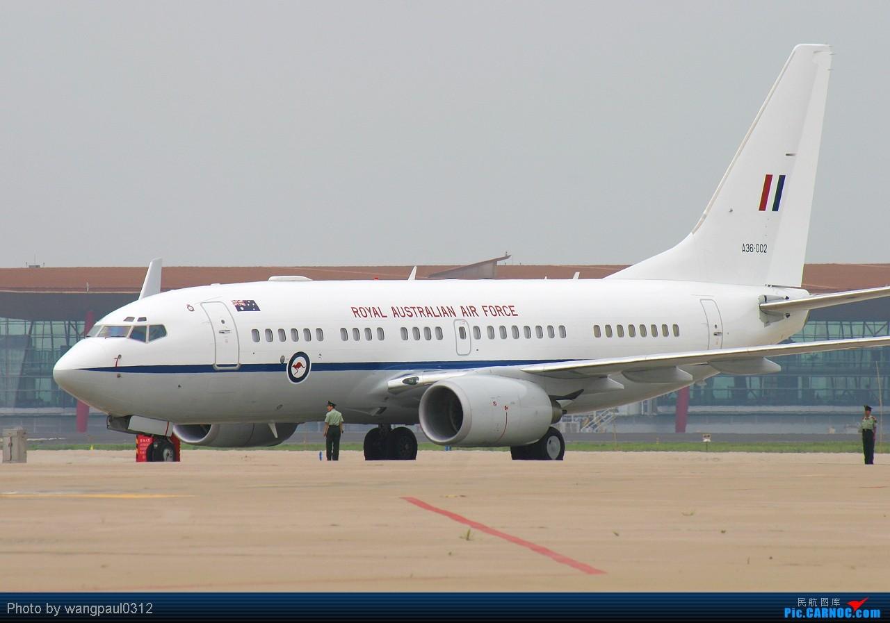 [原创]总督相当于什么职位?访问也要座皇家空君的飞机 BOEING 737-7DF(BBJ) A36-002 北京首都国际机场