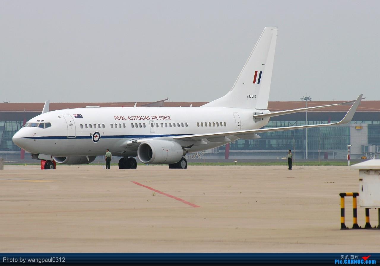 Re:[原创]总督相当于什么职位?访问也要座皇家空君的飞机 BOEING 737-7DF(BBJ) A36-002 北京首都国际机场
