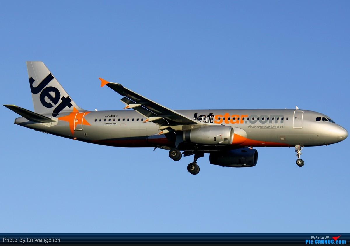 Re:[原创][SYDWC]没有CA747也精彩 AIRBUS A320-232 VH-VGY 澳大利亚悉尼金斯福德·史密斯机场