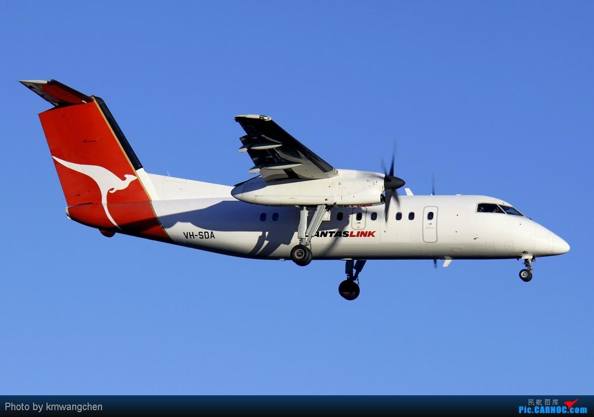 Re:[原创][SYDWC]没有CA747也精彩 DE HAVILLAND CANADA DHC-8-202Q VH-SDA 澳大利亚悉尼金斯福德·史密斯机场