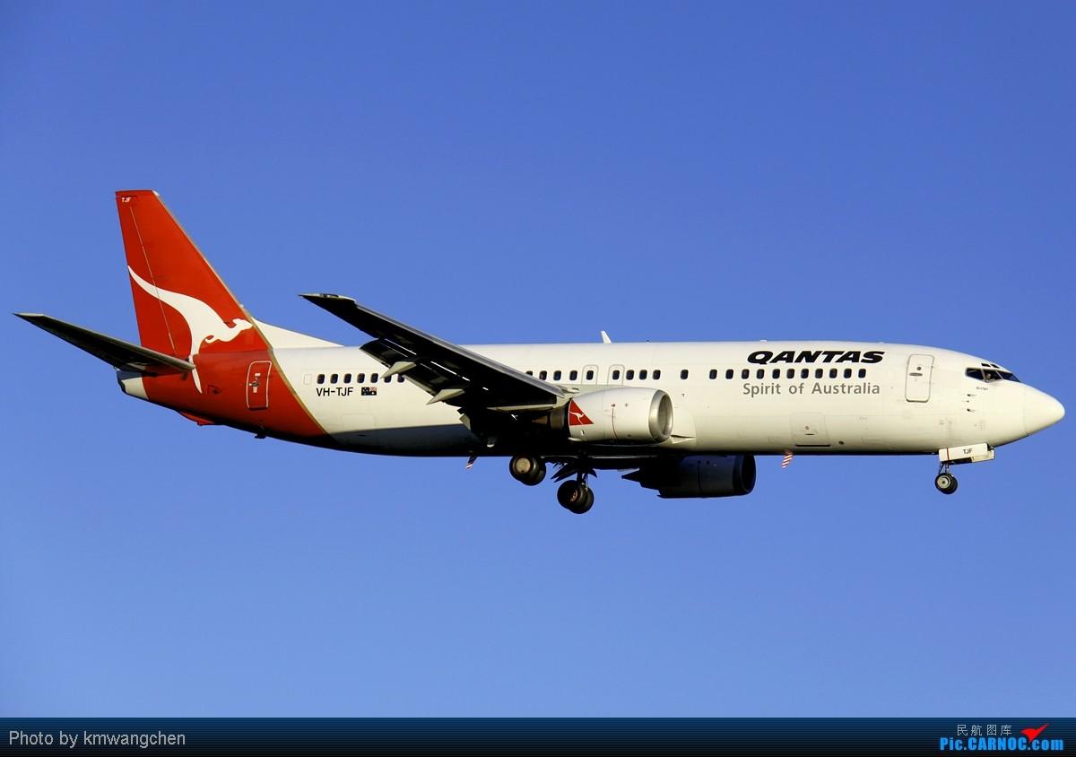 Re:[原创][SYDWC]没有CA747也精彩 BOEING 737-476 VH-TJF 澳大利亚悉尼金斯福德·史密斯机场