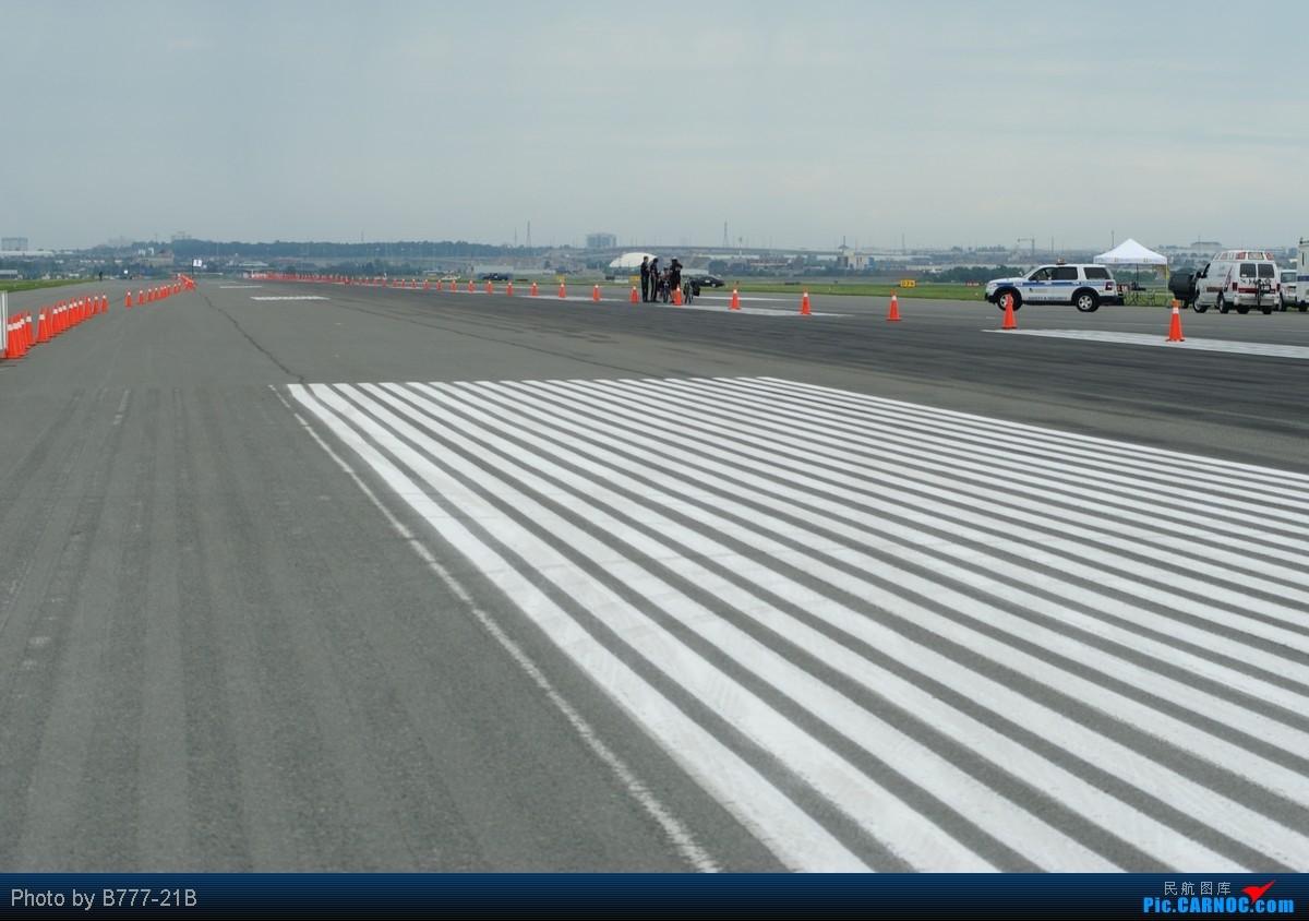 来吧 在机场跑道上跑步 2010年度GTAA Runway Run 近距离拍A319