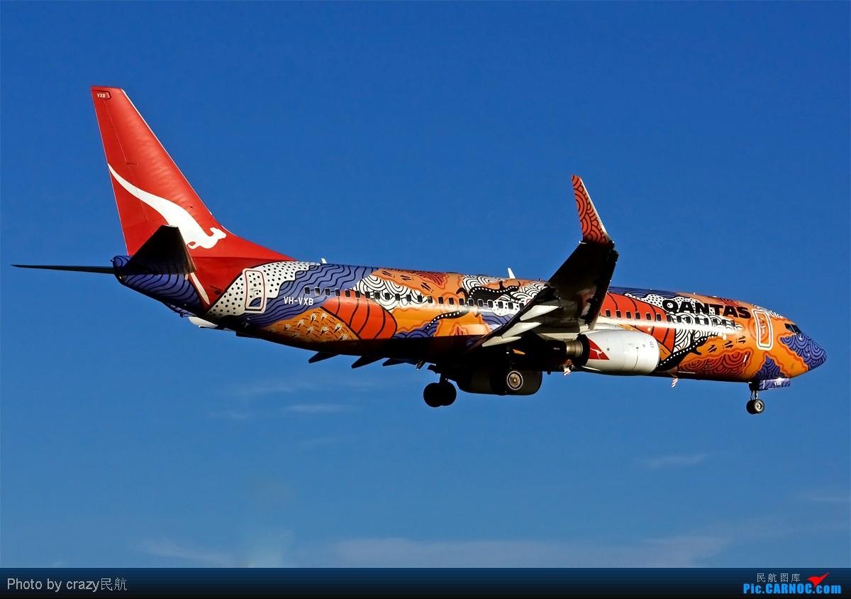 Re:[原创][SYD] 5342和2447的副产品,25头新位置,光线灰常不错~ BOEING 737-800 VH-VXB 澳大利亚悉尼金斯福德·史密斯机场