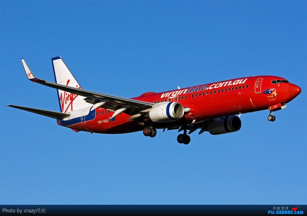 Re:[原创][SYD] 5342和2447的副产品,25头新位置,光线灰常不错~ BOEING 737-800 VH-VUJ 澳大利亚悉尼金斯福德·史密斯机场