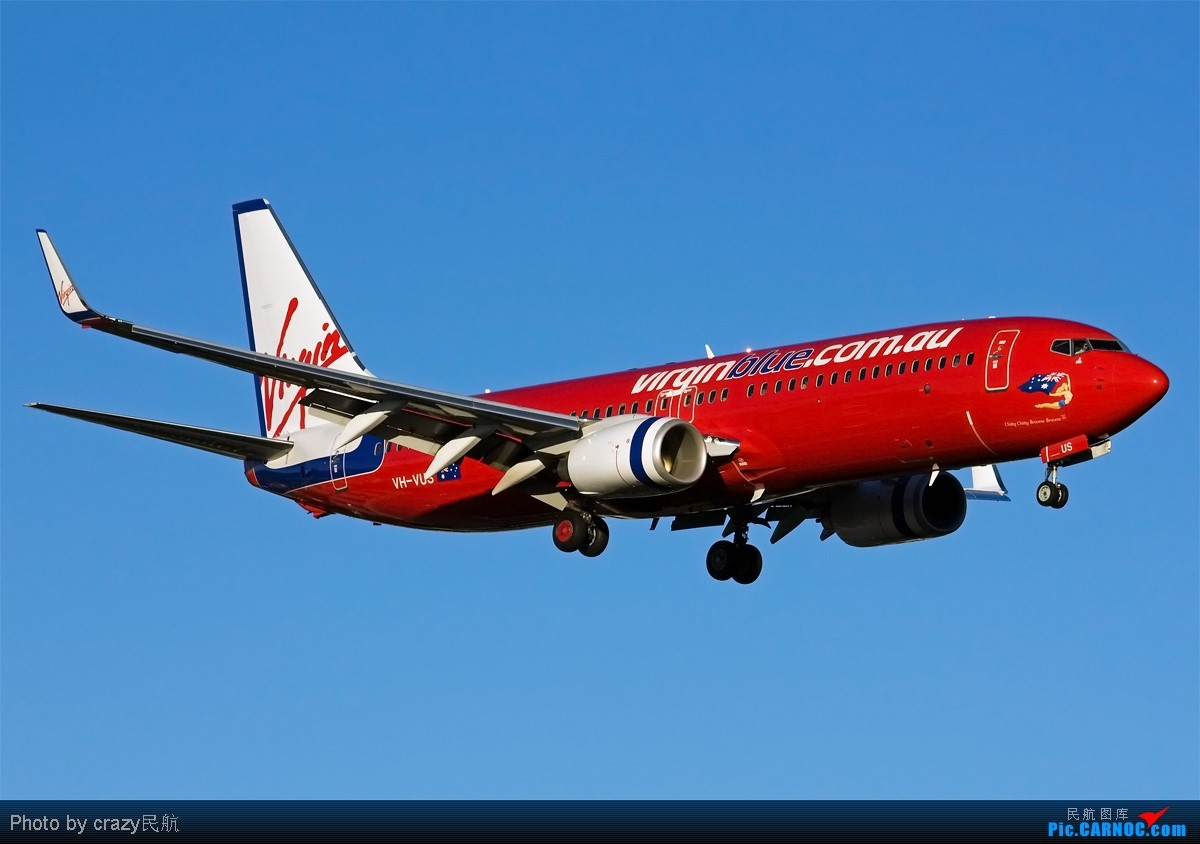 Re:[原创][SYD] 5342和2447的副产品,25头新位置,光线灰常不错~ BOEING 737-800 VH-VUS 澳大利亚悉尼金斯福德·史密斯机场