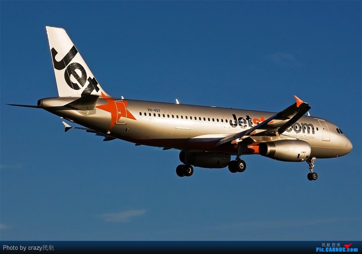 Re:[原创][SYD] 5342和2447的副产品,25头新位置,光线灰常不错~ AIRBUS A320-200 VH-VGY 澳大利亚悉尼金斯福德·史密斯机场
