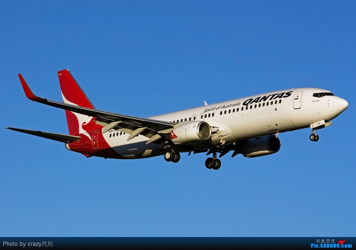 Re:[原创][SYD] 5342和2447的副产品,25头新位置,光线灰常不错~ BOEING 737-800 VH-VXD 澳大利亚悉尼金斯福德·史密斯机场