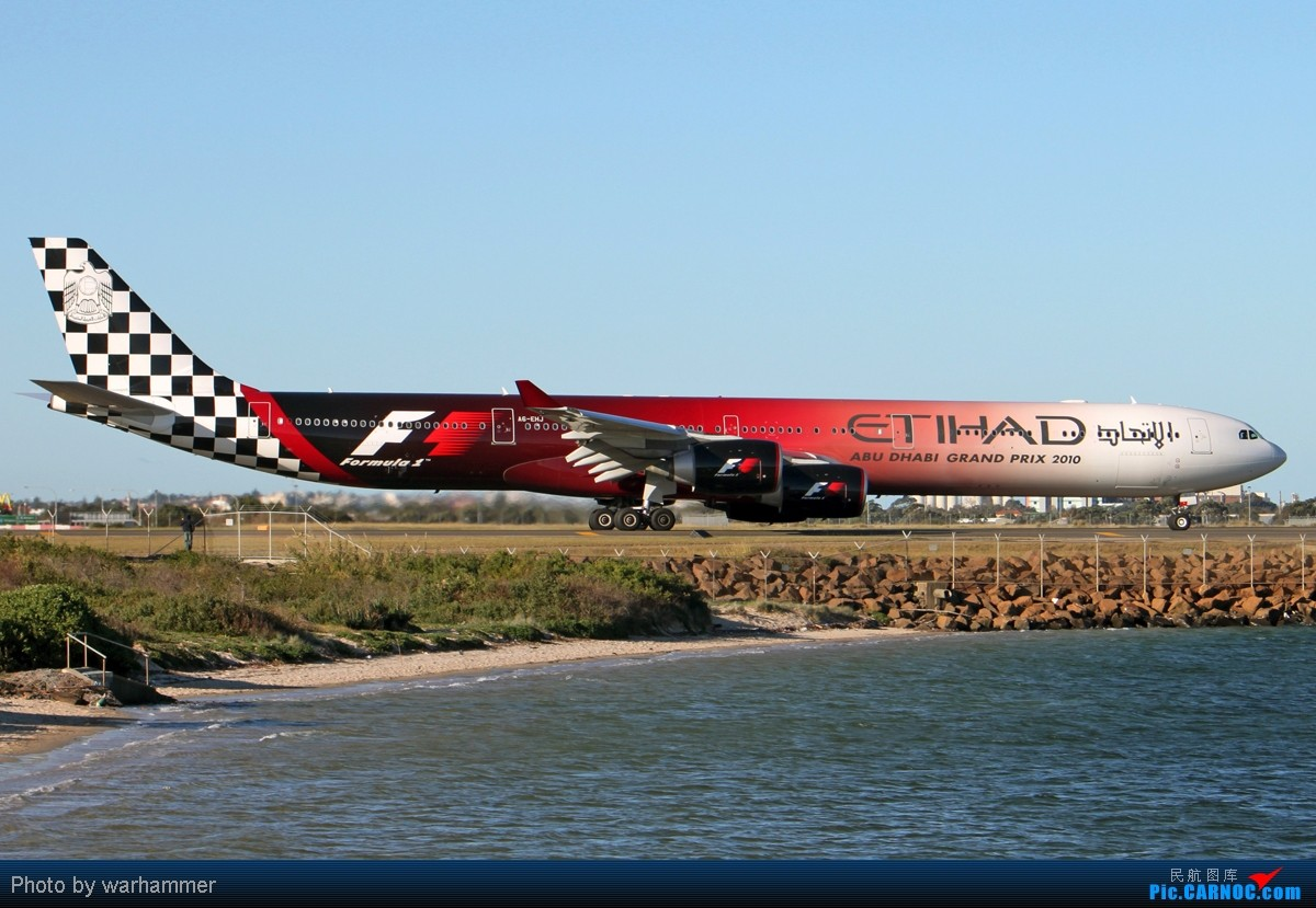 Re:[原创]【SYD WH】拍机是种享受(十)杂图!纯杂图!纯重型机杂图! AIRBUS A340-600 A6-EHJ 澳大利亚悉尼金斯福德·史密斯机场