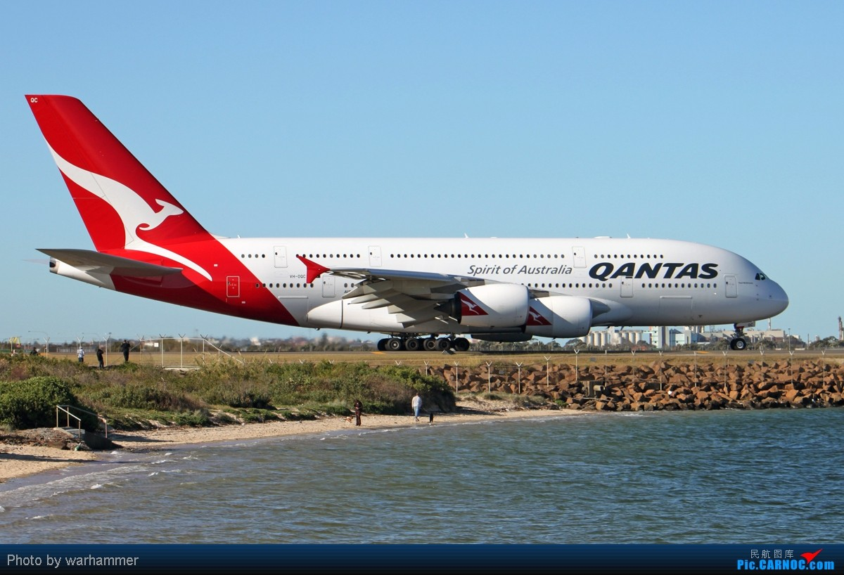 Re:[原创]【SYD WH】拍机是种享受(十)杂图!纯杂图!纯重型机杂图! AIRBUS A380 VH-OQC 澳大利亚悉尼金斯福德·史密斯机场