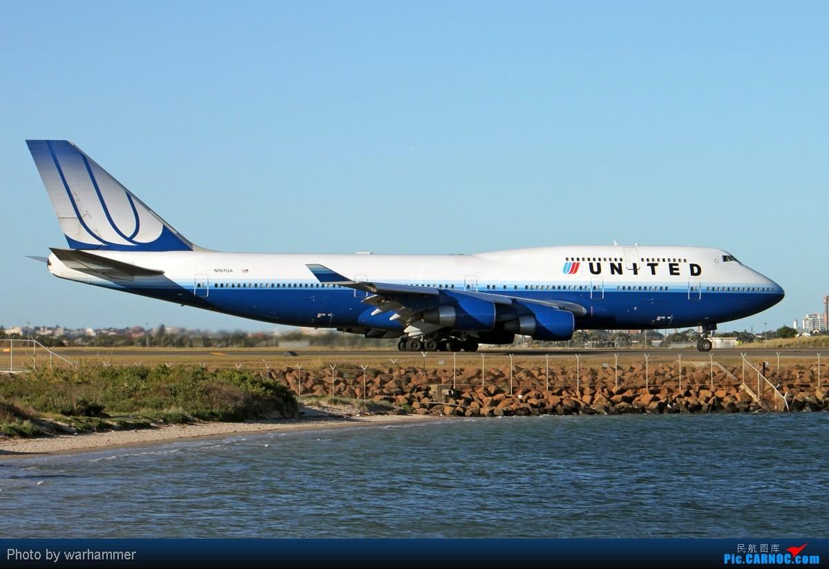Re:[原创]【SYD WH】拍机是种享受(十)杂图!纯杂图!纯重型机杂图! BOEING 747-400 N107UA 澳大利亚悉尼金斯福德·史密斯机场