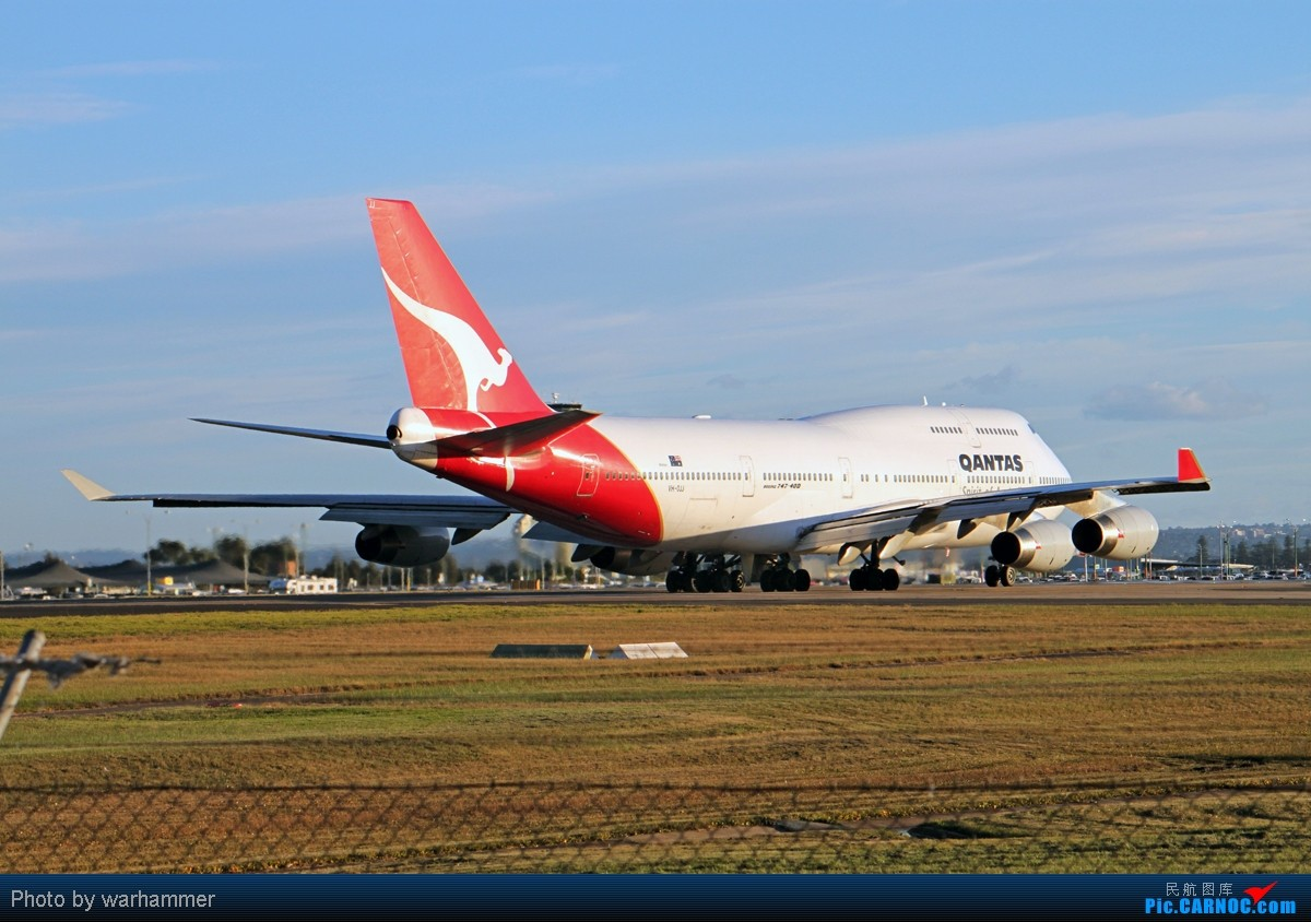 Re:[原创]【SYD WH】拍机是种享受(十)杂图!纯杂图!纯重型机杂图! BOEING 747-400 VH-OJJ 澳大利亚悉尼金斯福德·史密斯机场