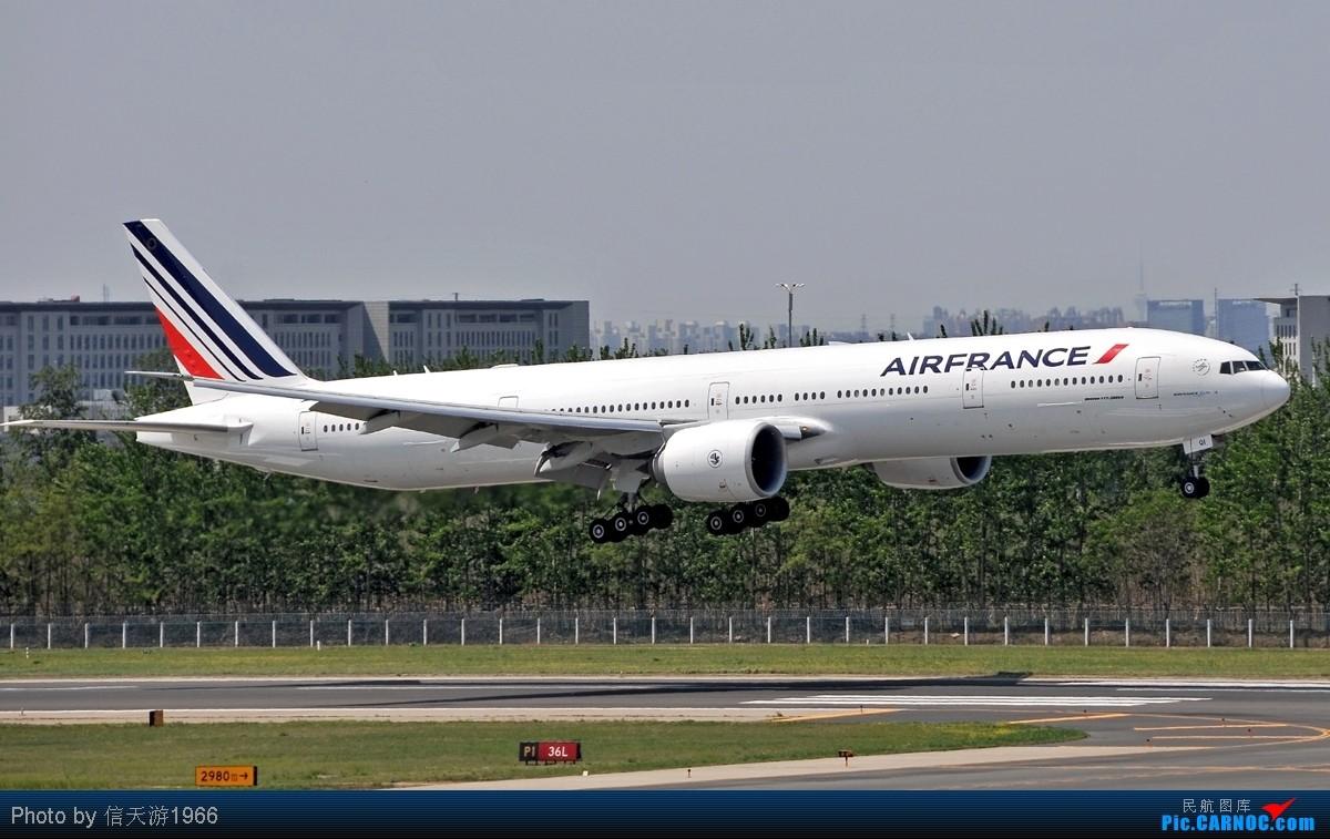 [原创][KMG] 晃眼就到了777 发此帖谢众飞友支持 BOEING 777-300 F-GSOI 中国北京首都机场