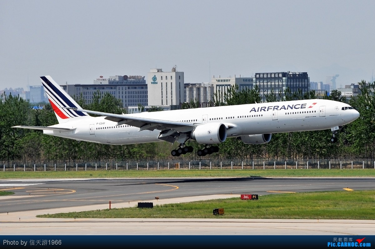 Re:[原创][KMG] 晃眼就到了777 发此帖谢众飞友支持 BOEING 777-300 F-GSOI 中国北京首都机场