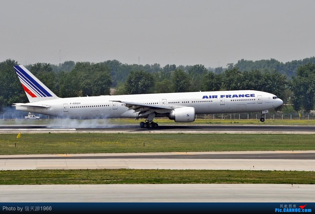 Re:[原创][KMG] 晃眼就到了777 发此帖谢众飞友支持 B777 - 300 F-GSQV 中国北京首都机场