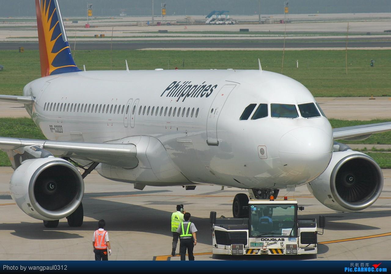 Re:[原创]难得一见的智利空君大力神运输机,它载着我们的国宝回来了! AIRBUS A320-200 RP-C3223 北京首都国际机场