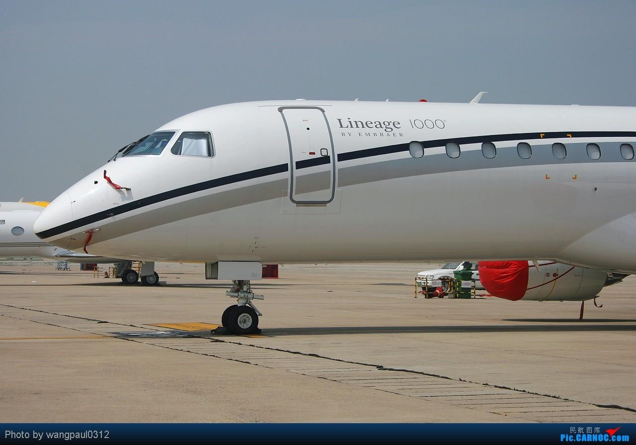 Re:[原创]巴西航空工业顶级公务机---世袭1000 EMBRAER ERJ-190-100BJ LINEAGE 1000 PT-SDD 北京首都国际机场