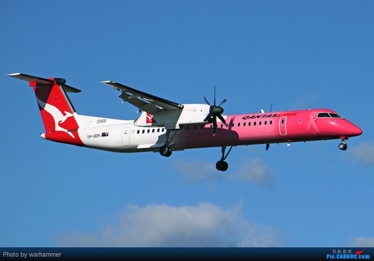 Re:【SYD WH】在SYD拍机,果然是不能计划滴! DE HAVILLAND CANADA DHC-8-402Q DASH 8 VH-QOH 澳大利亚悉尼金斯福德·史密斯机场