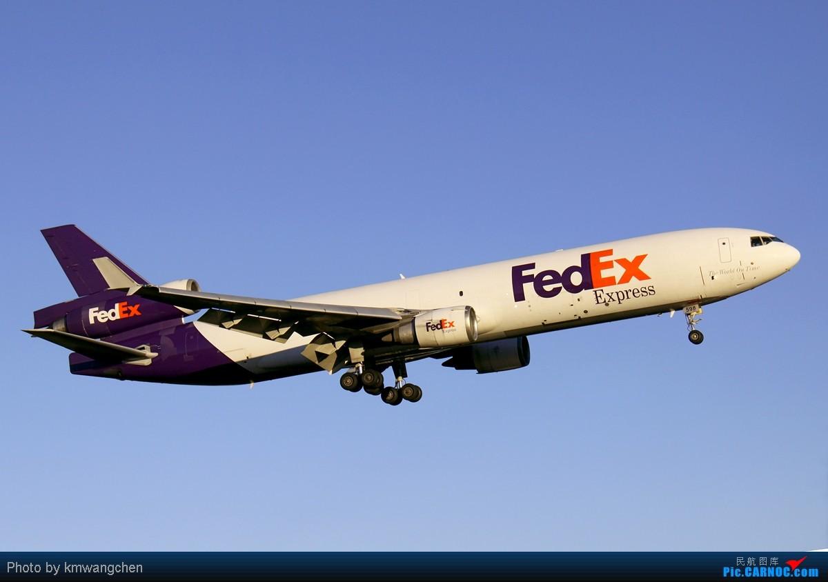 Re:[原创]【深圳飞友会】想拍它真的很不容易啊!相隔半年有缘再次与它碰面。UPS MD-11F 这个角度头顶掠过挺有气势的。 MCDONNELL DOUGLAS MD-11(F) N598FE 澳大利亚悉尼金斯福德·史密斯机场  飞友