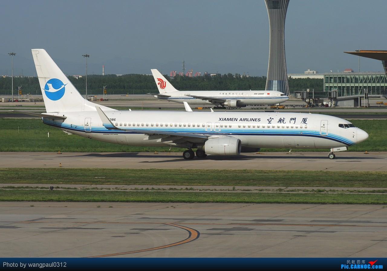 Re:[原创]虽然今天没有去拍梦寐以求的安东诺夫XD,不过很多飞友拍到就可以了,今儿来737的伺候 BOEING 737-800 B-5386 北京首都国际机场
