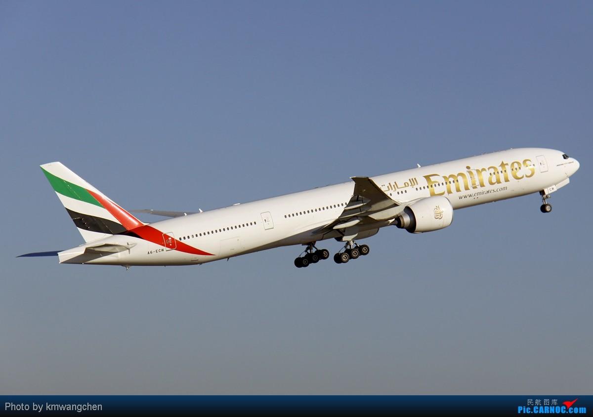 Re:[原创]【SYD&HKG ED】升到777啦...我最喜欢三条7了...发自己拍过的777庆祝庆祝...呼呼呼 BOEING 777-36N/ER A6-ECM 澳大利亚悉尼金斯福德·史密斯机场