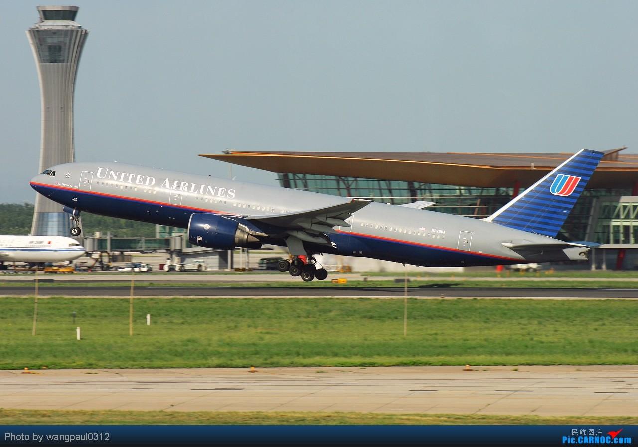 [原创]某些人最爱777,某些人最爱新加坡,某些人最爱美联合,某些人最爱美大陆,不知图库爱不爱 BOEING 777-222/ER N229UA 北京首都国际机场