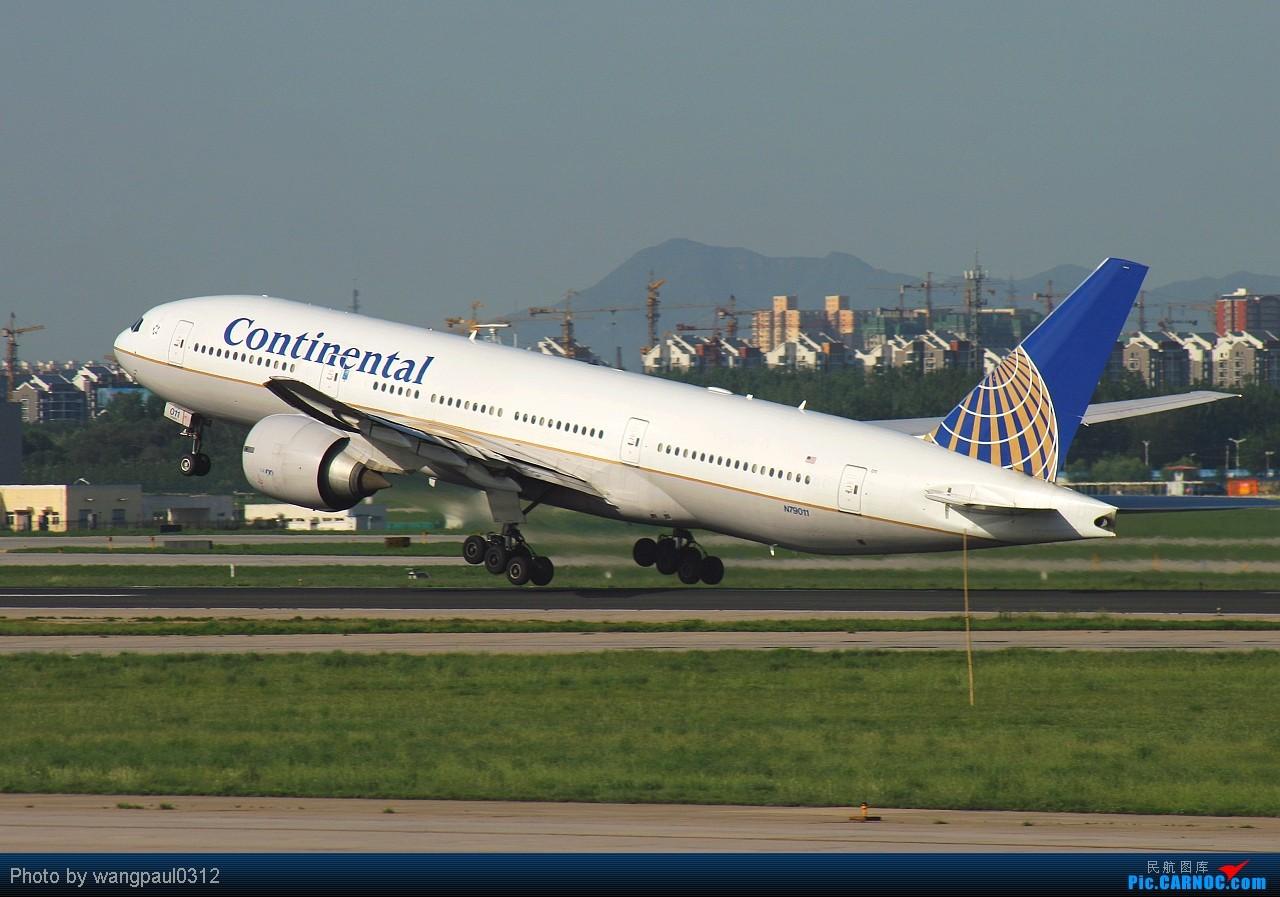 Re:[原创]某些人最爱777,某些人最爱新加坡,某些人最爱美联合,某些人最爱美大陆,不知图库爱不爱 BOEING 777-224/ER N79011 北京首都国际机场