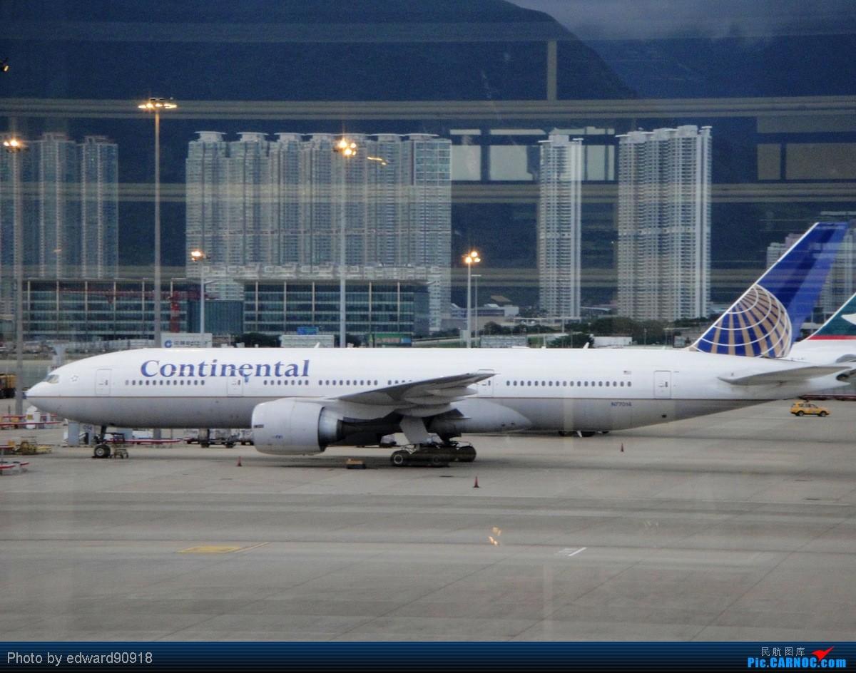 Re:[原创]【SYD&HKG ED】升到777啦...我最喜欢三条7了...发自己拍过的777庆祝庆祝...呼呼呼 BOEING 777-200ER N77014 中国香港赤鱲角国际机场
