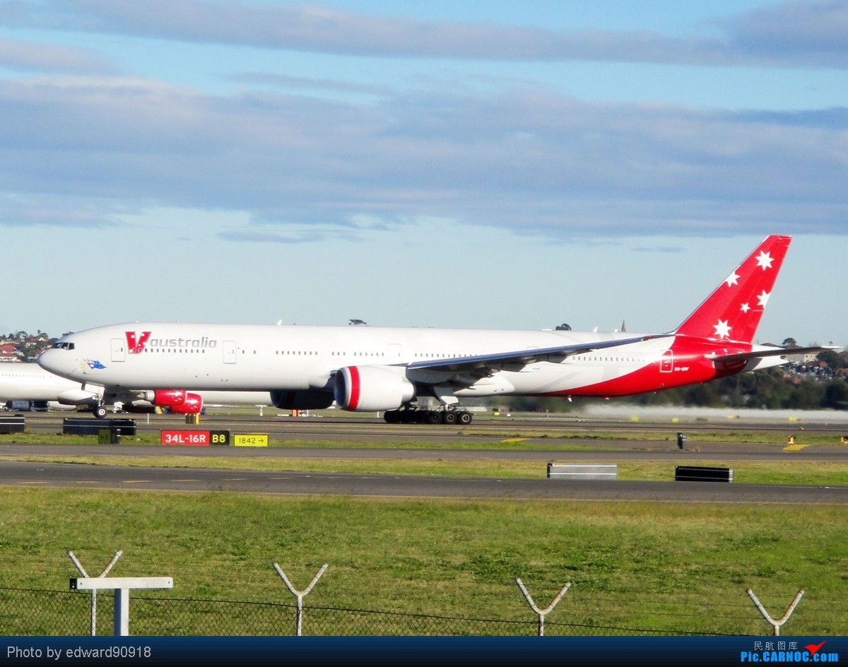 Re:[原创]【SYD&HKG ED】升到777啦...我最喜欢三条7了...发自己拍过的777庆祝庆祝...呼呼呼 BOEING 777-300ER VH-VPF 澳大利亚悉尼金斯福德·史密斯机场