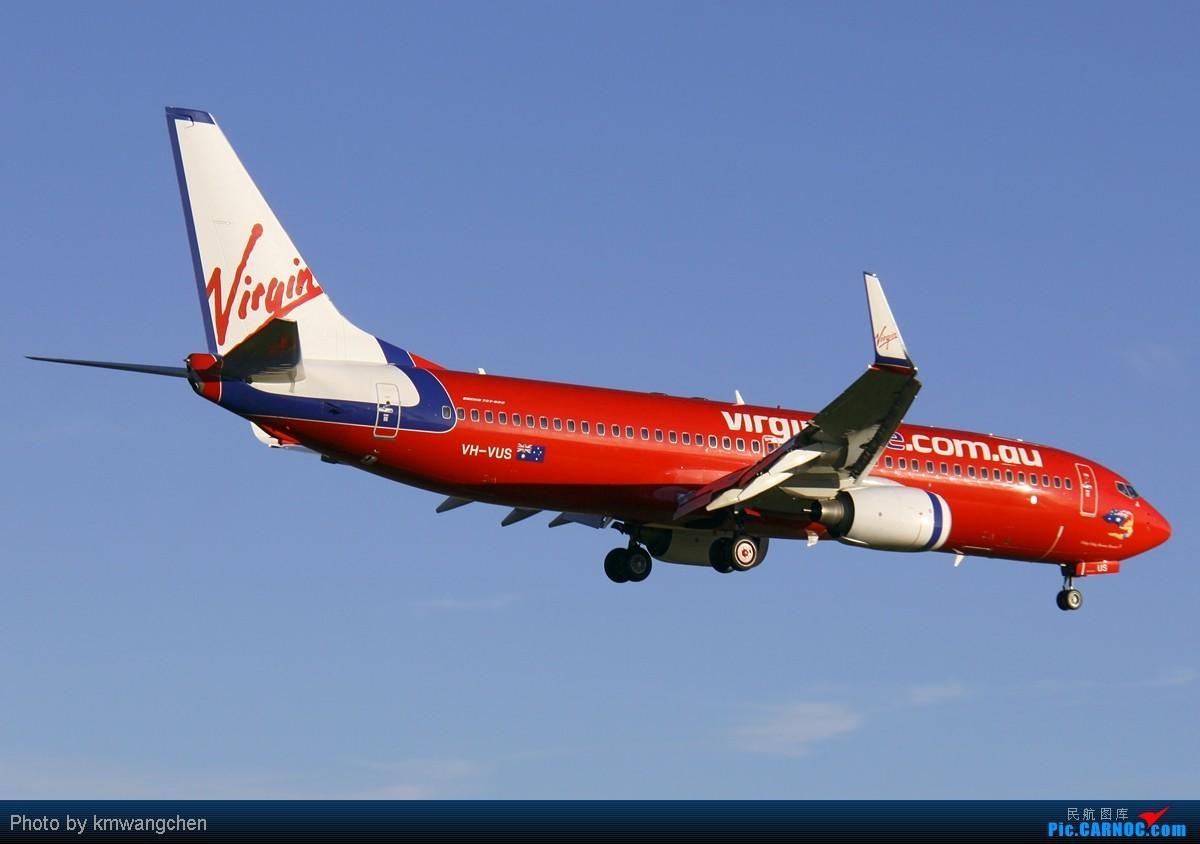 Re:[SYDWC]夕阳西下,美丽的降落 BOEING 737-8FE VH-VUS 澳大利亚悉尼金斯福德·史密斯机场