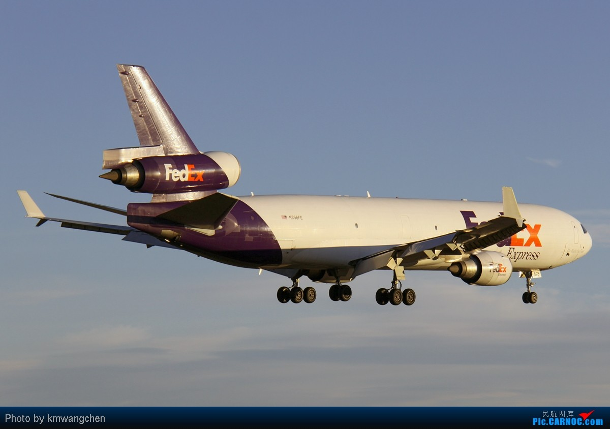 Re:[SYDWC]夕阳西下,美丽的降落 MCDONNELL DOUGLAS MD-11(F) N598FE 澳大利亚悉尼金斯福德·史密斯机场