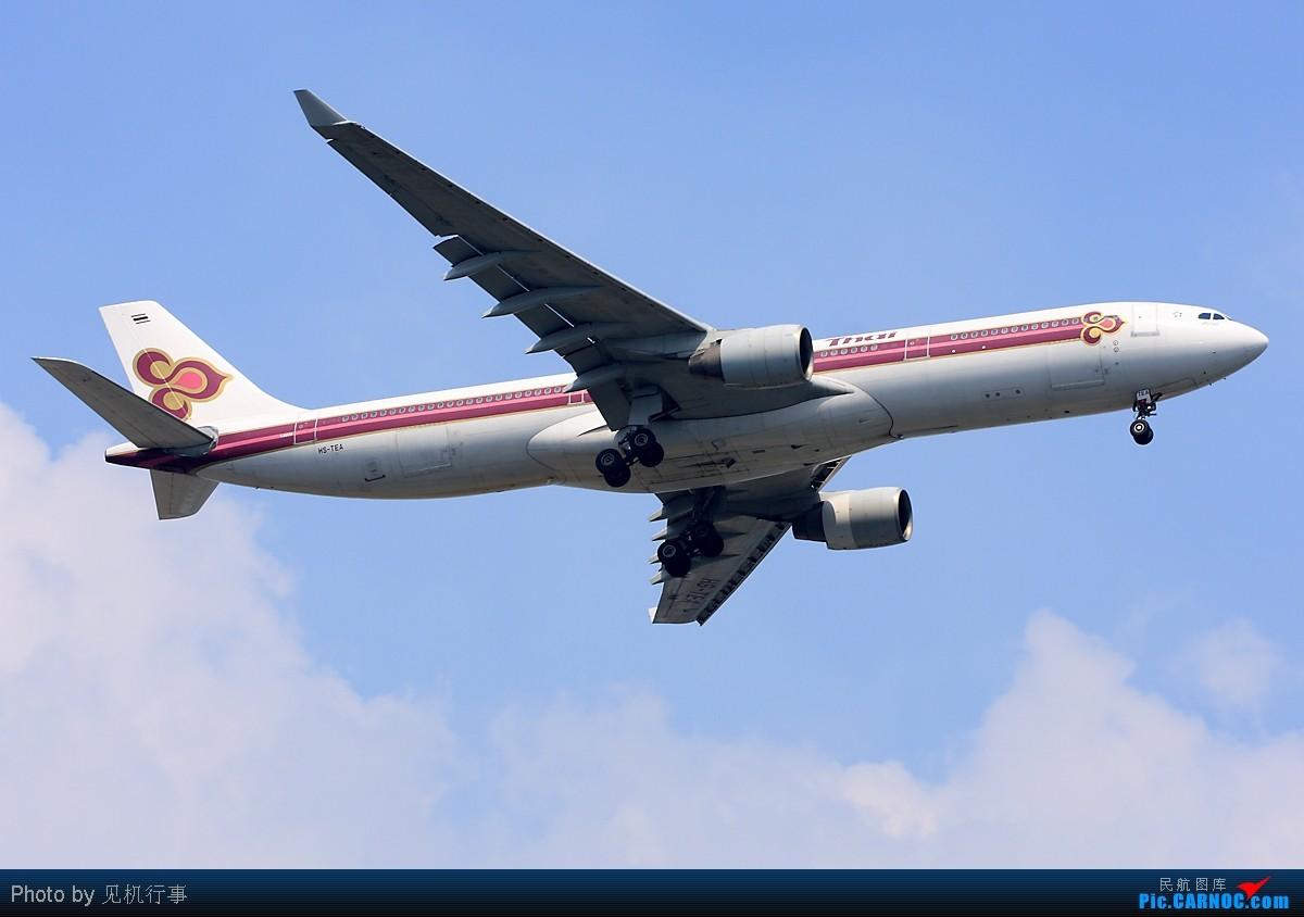 Re:[原创]【深圳飞友会】非常日子,非常天气!拍的是蓝天,白云。飞机是配角!!! AIRBUS A330-300 HS-TEA 中国广州白云机场