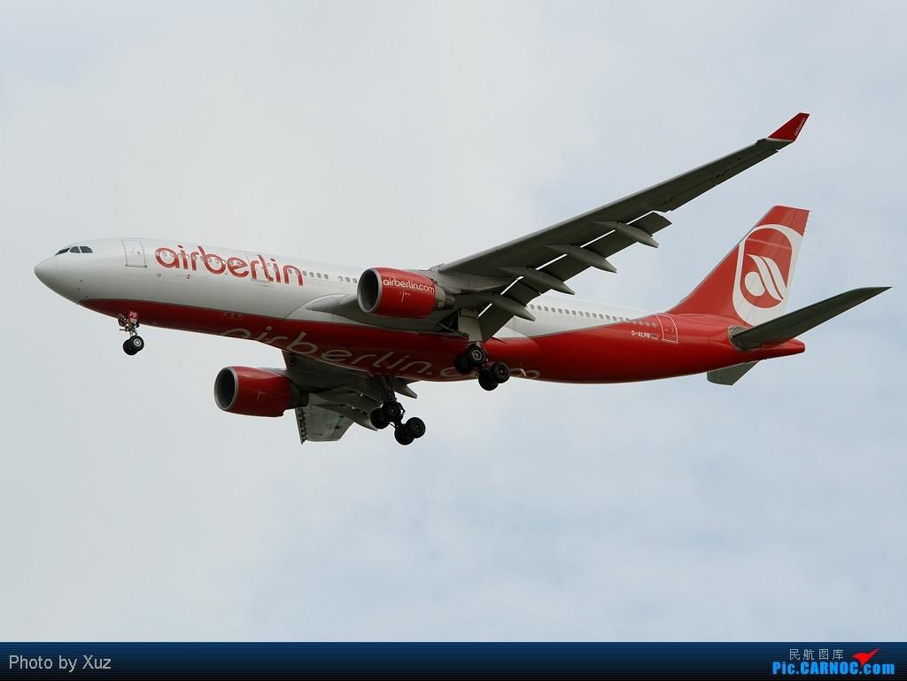 [原创]流窜到曼谷拍机 AIRBUS A330-200 D-ALPB 泰国曼谷(素万那普)机场