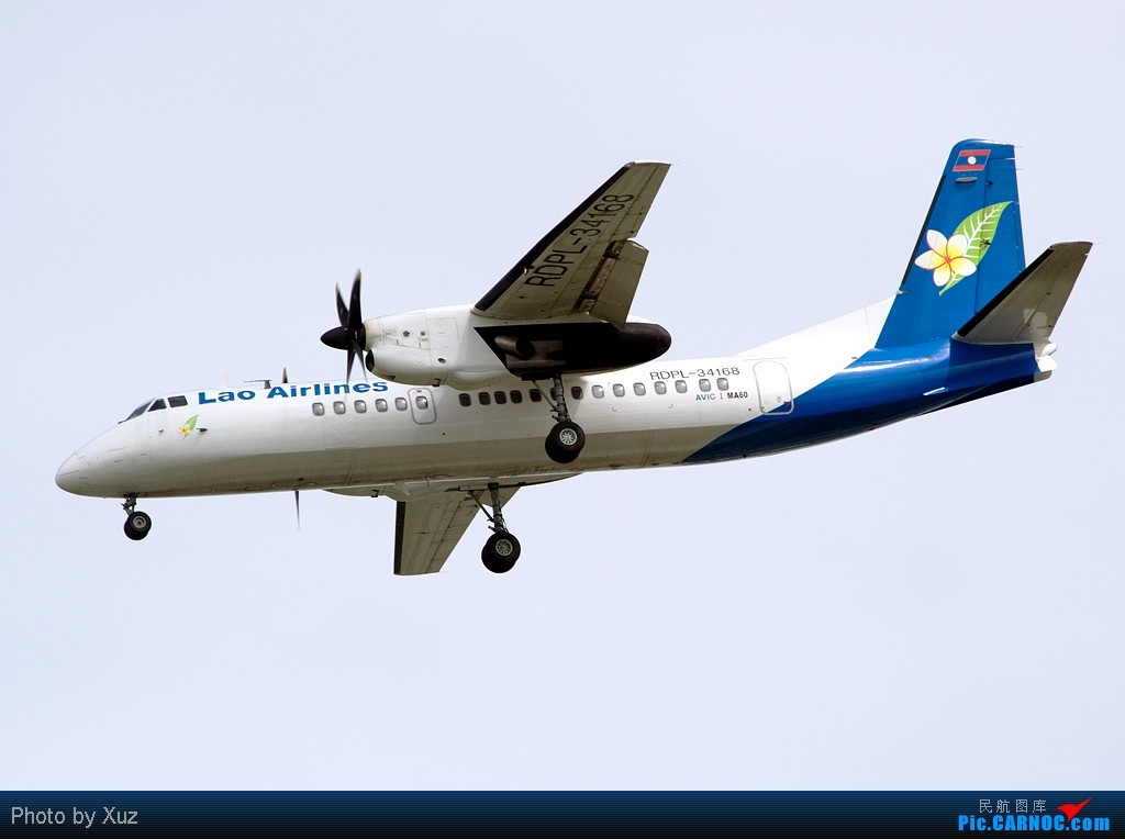 Re:[原创]流窜到曼谷拍机 XIAN AIRCRAFT INDUSTRY MA-60 RDPL-41683 泰国曼谷(素万那普)机场