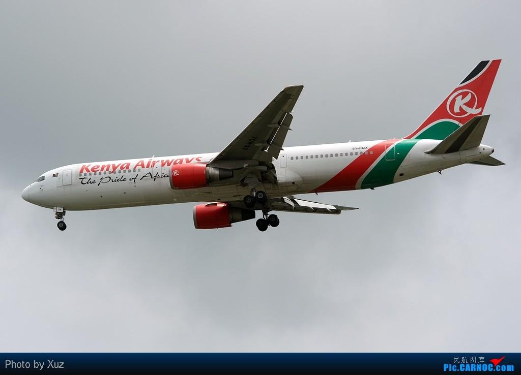 Re:[原创]流窜到曼谷拍机 BOEING 767-300 5Y-KQX 泰国曼谷(素万那普)机场