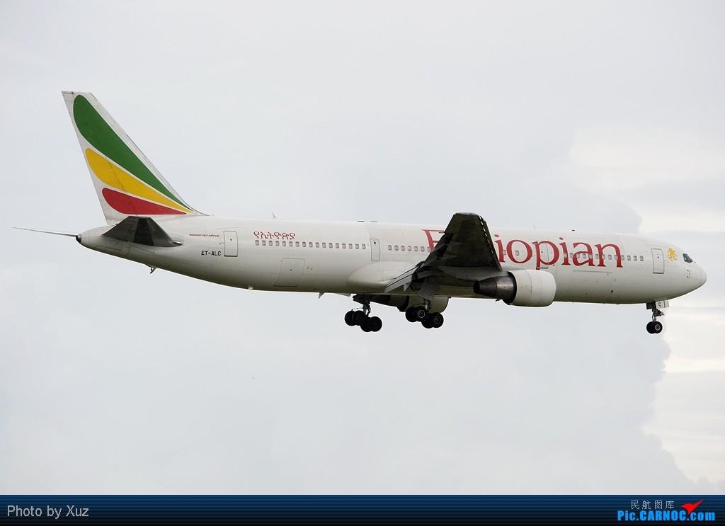 Re:[原创]流窜到曼谷拍机 BOEING 767-300 ET-ALC 泰国曼谷(素万那普)机场