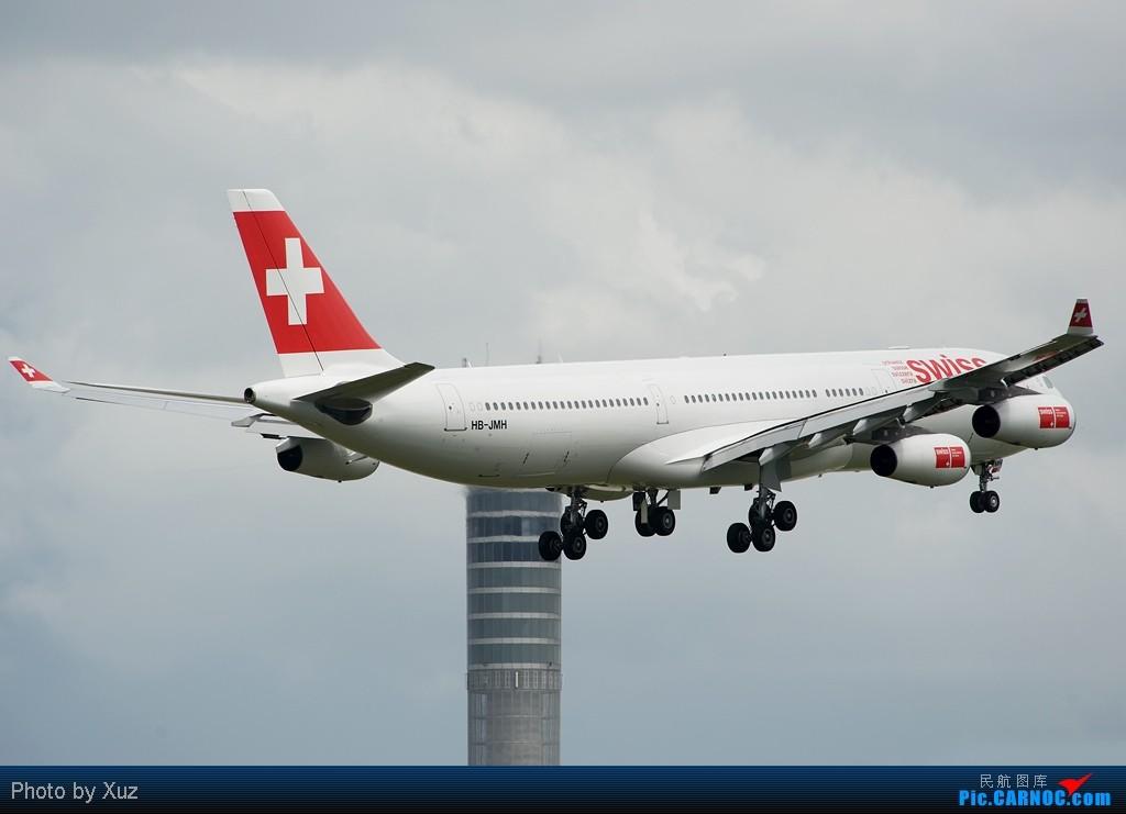 Re:[原创]流窜到曼谷拍机 AIRBUS A340-300 HB-JMH 泰国曼谷(素万那普)机场