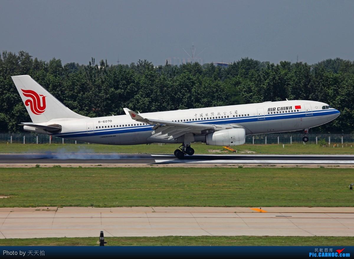 Re:[原创]坚守西道空客346.330落地前一刹那展示优美姿态 AIRBUS A330-200 B-6070 中国北京首都机场