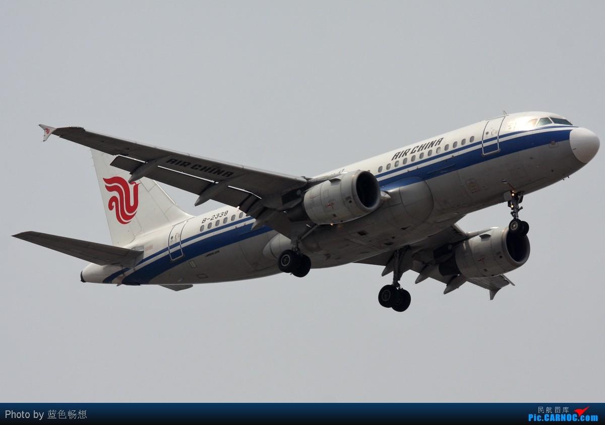 [原创]<绝世痴飞>不为入库不为功勋只证明我是这坛子里的一员,怀念一下那个柳絮翻飞的阴霾天,小可爱戴口罩,东海凸现 AIRBUS A319-100 B-2339 中国北京首都机场